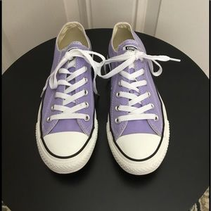 Converse All Star Purple Low Top Sneakers